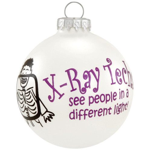 X-Ray Tech Glass Ornament