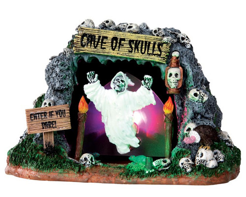 LEMAX Halloween -  Cave of Skulls - Shaking Animated Ghost