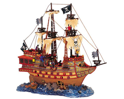 LEMAX Halloween -  Haunted Galleon Pirate Ship