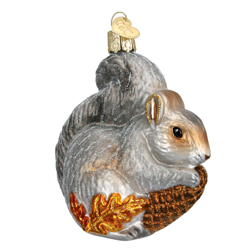 Old World Glass - Hungry Squirrel Ornament