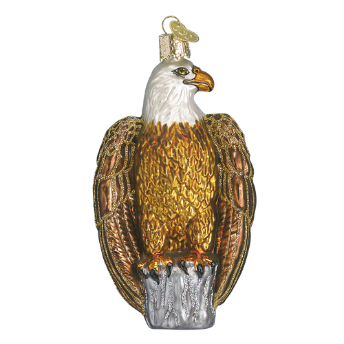Old World Glass - Bald Eagle Ornament