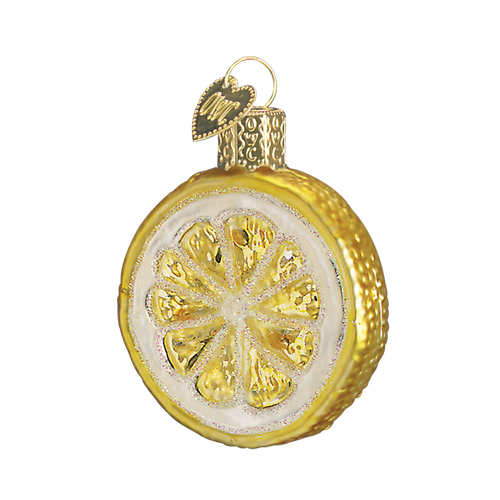 Old World Glass - Lemon Slice Ornament