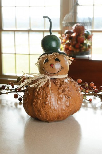 Meadowbrooke Gourds- Large Tucker Scarecrow