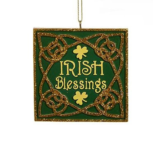 Irish Blessings Ornament