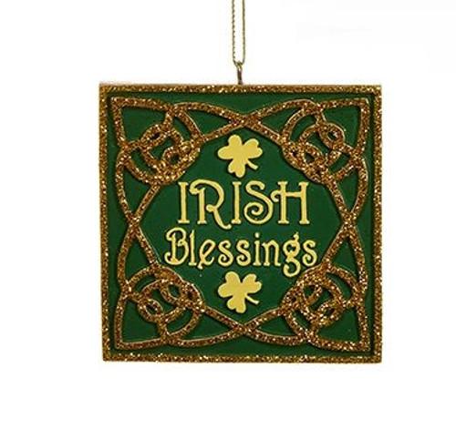 Irish Blessings Ornament