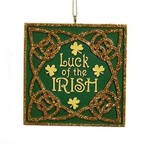 Luck of the Irish Ornament