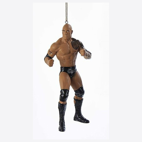 WWE Superstar The Rock Ornament