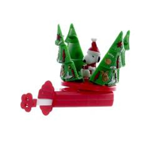 Snoopy Christmas Tree Spinner