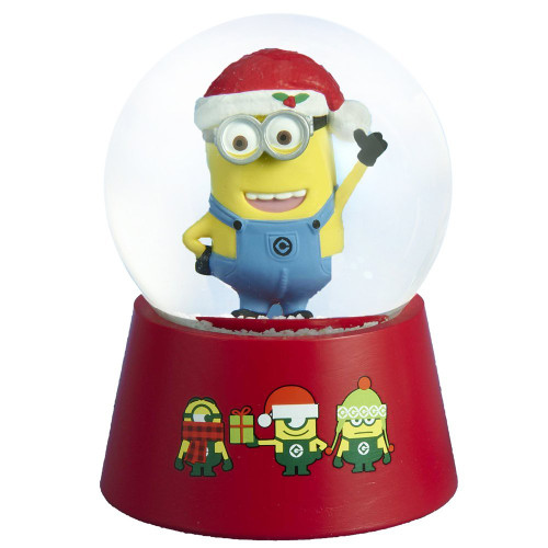 Minion Musical Snow Globe