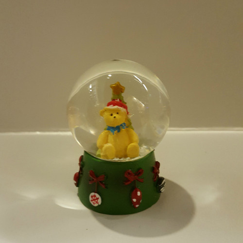 Teddy Bear Mini Snow Dome