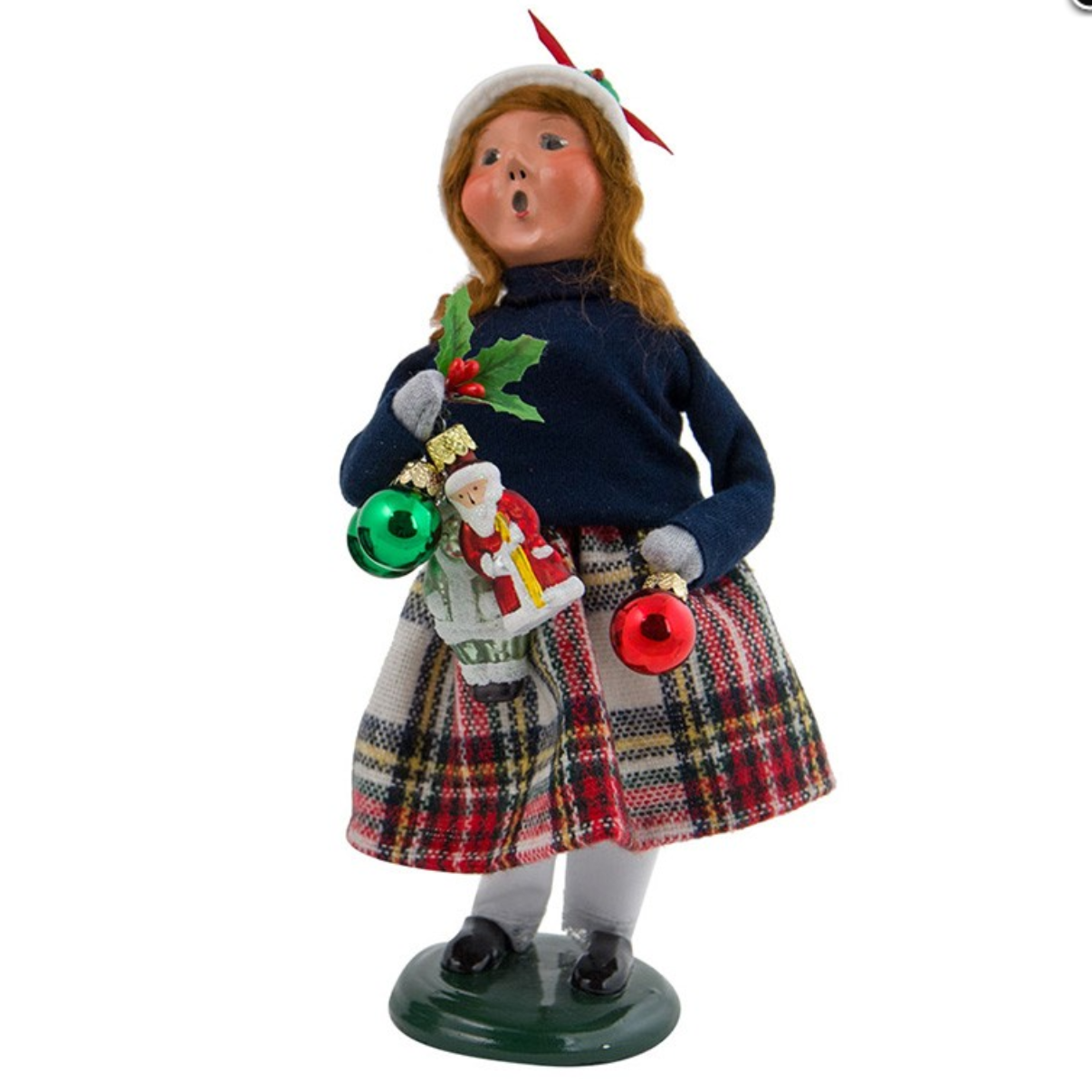 Christmas carolers figurines for sale - 2017 Byers Choice Ornament Girl
