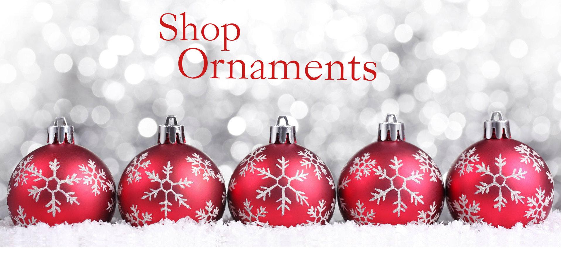 Christmas loft ornaments shop ornaments