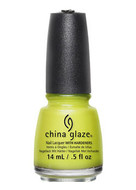 China Glaze Nail Polish Road Trip 2015 Spring Collection- Trip of a Lime Time