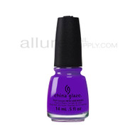 China Glaze Electric Nights Collection - Plur-Ple 82601
