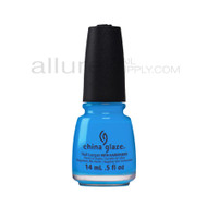 China Glaze Electric Nights Collection - DJ Blue My Mind 82606