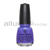 China Glaze Lite Brites Collection - I Got A Blue Attitude 83549