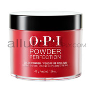 OPI Color Perfection Dip Powder - Big Apple Red (43g)