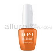 OPI Gel Color - Freedom of Peach  - GCW59