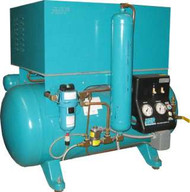Apollo Refurbished Oil-Less Twin 4 User Air Compressor