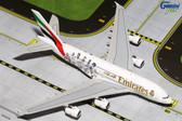 "GEMINI JETS EMIRATES A380 ""REAL MADRID"" A6-EOA SCALE 1/400 GJUAE1557"