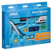 Jet Blue Toy Airport Playset Age 3+
