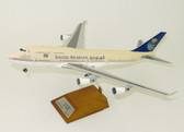 JC WINGS SAUDI ARABIAN BOEING 747-400 HZ-AIY WITH STAND SCALE 1/200