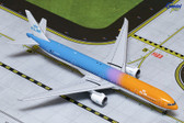 "Gemini Jets KLM B777-300ER ""Orange Pride"" (w/tug) PH-BVA Scale 1/400"