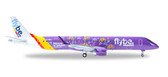 Herpa FlyBe Welcome to Yorkshire  Embraer E195 Scale 1/200 558297 Due February 2017