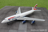Gemini 200 British Airways Boeing 747-400 G-BYGE Scale 1/200 G2BAW634