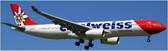 JC WINGS EDELWEISS A330-300 HB-JHR SCALE 1/200 Due September 2017