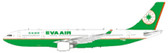 JC WINGS EVA A330-200 B-16307 WITH STAND SCALE 1/200 DUE APRIL 2017