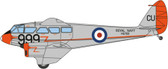 Oxford Diecast Dragon Rapide Dominie HG709 RNAS Culdrose  Scale 1/72 Due July 2017