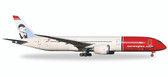 "Herpa Norwegian Boeing 787-9 Dreamliner - Egg LNI""Greta Garbo"" Scale 1/500 IS DUE July2017"
