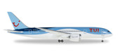 "Herpa TUI Airlines Belgium (Jetairfly) Boeing 787-8 Dreamliner OO JDL ""Daimond"" Scale 1/500 IS DUE July2017"