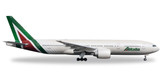 Herpa Alitalia Boeing 777-200 New Colors - I-DISU  Scale 1/500 IS DUE APRIL 2017