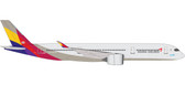 Herpa Asiana Airlines Airbus A350-900 XWB - HL8078 Scale 1/500 IS DUE APRIL 2017