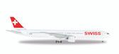 Herpa Swiss International Air Lines Boeing 777-300ER Scale 1/500 IS DUE APRIL 2017