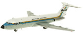JC WINGS BRITISH UNITED AIRWAYS (BUA) BAC111-200 G-ASJD SCALE 1/200