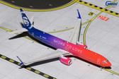 "GEMINI JETS ALASKA B737-900ER(S) ""More to Love"" N493AS SCALE 1/400 GJASA1641"