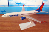Snap-fit Viking Airlines SE-RHR Boeing 737-800 Scale 1/200 Plus free print