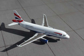 Gemini Jets British Airways A319 G-EUPA  Scale 1/400 GJBAW148