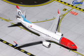 Gemini Jets Norwegian Boeing 737-800 LN-MAX Scale 1/400 GJNAX1654 Due June 2017