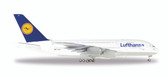 Herpa Wings Lufthansa Airbus A380-800 Scale 1/200