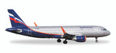 "Herpa Aeroflot Airbus A320 - VP-BAD ""Abram Ioffe"" Scale 1/500 Due Sept 2017"