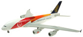 "JC WINGS SINGAPORE A380 ""50TH"" 9V-SKI WITH STAND SCALE 1/200 JC2999"