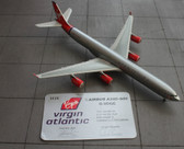 "Gemini Jets Virgin Atlantic A340-600 G-VOGE ""Cover Girl"" Scale 1/400 in a silver tin 1618 of 2500"