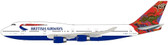 Blue Box British Airways Boeing 747-400 Wunala Dreaming G-BNLS Scale 1/200 BX7474025 Due October 2017