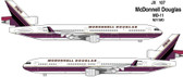 JC WINGS MD-11 REG: N211MD HOUSE COLOR - PURPLE WITH ANTENNA   SCALE 1/400 JC4076 DUE DECEMBER  2017