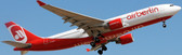 JC WINGS AIR BERLIN AIRBUS A330-200 REG: D-ALPA WITH STAND SCALE 1/200 JC2198 DUE DECEMBER  2017
