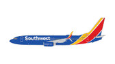 Gemini 200 Southwest Boeing 737-800S N8653A Scale 1/200 G2SWA682 Due end of October 2017